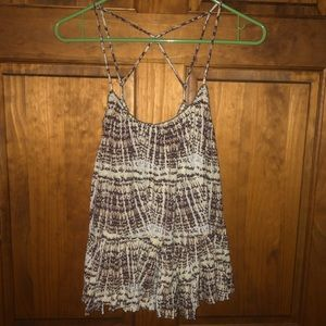 Free people flowy tank top size small!